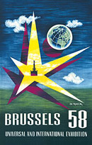 Cartel Expo '58 - 2